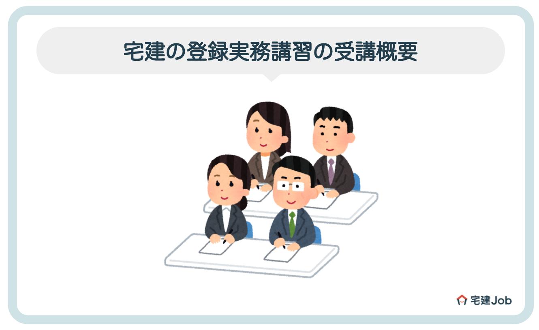 2.宅建の登録実務講習の受講概要【受講料金・日程・場所】