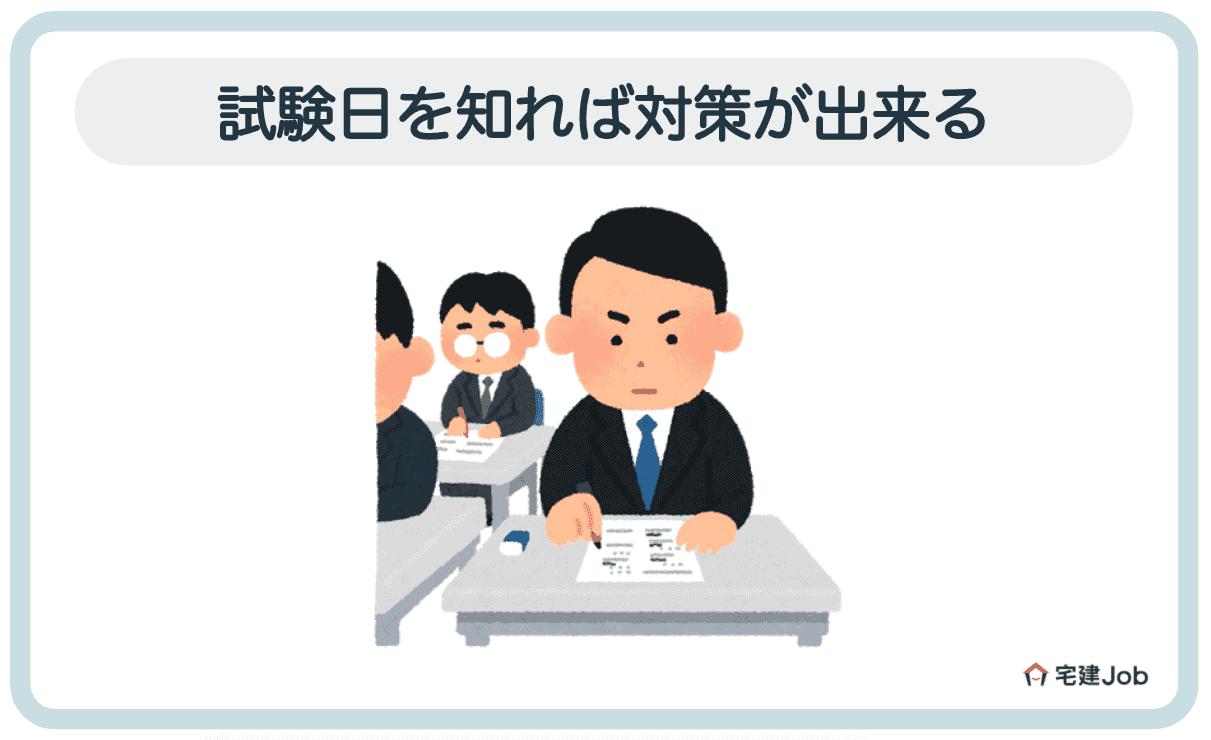 2.管理業務主任者の試験日を知る=勉強スケジュールが逆算可能【一発合格】