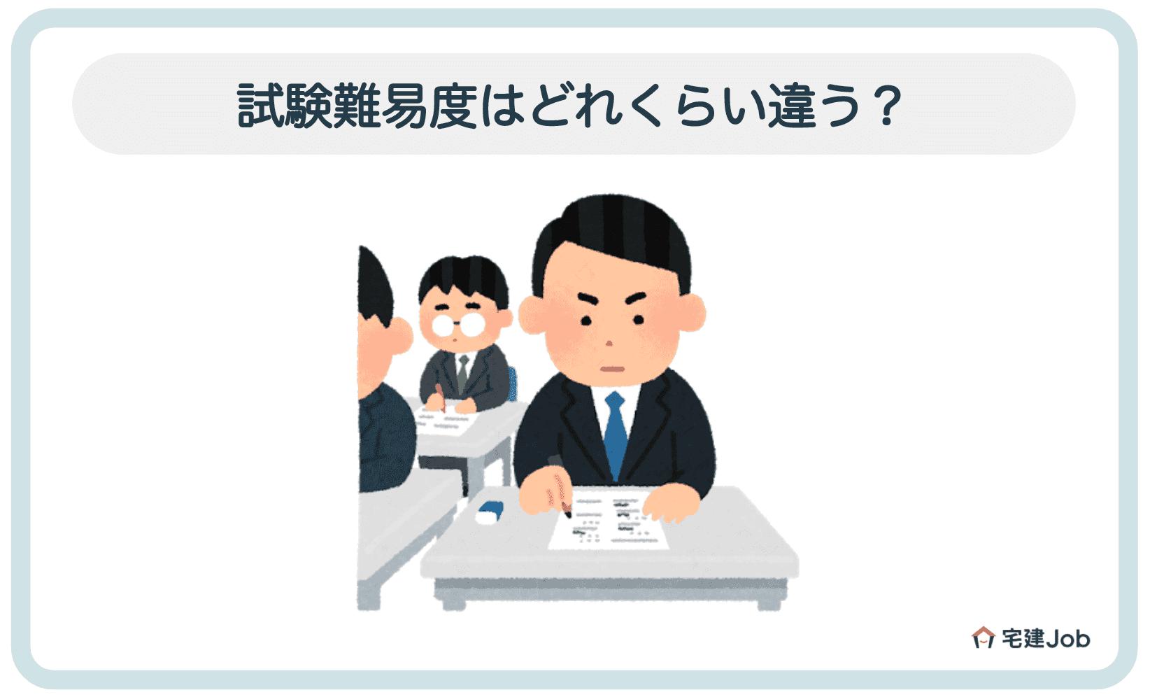 2.不動産鑑定士と土地家屋調査士の違い【資格合格の難易度】