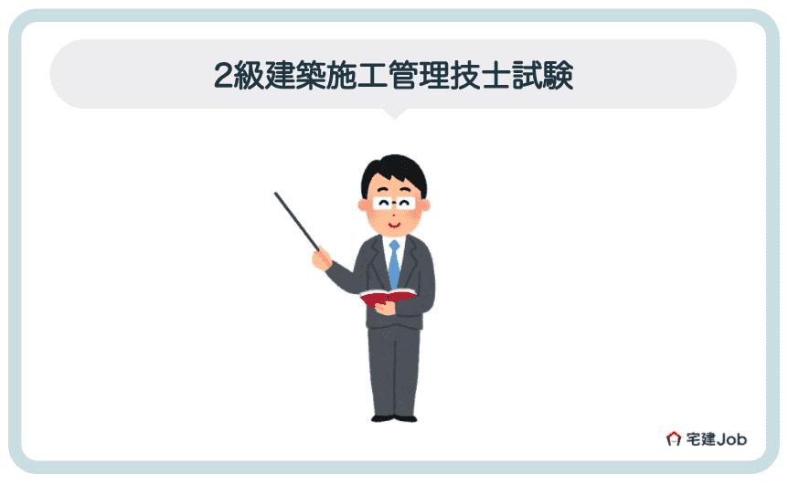 ②.2級建築施工管理技士試験【難易度・合格率】