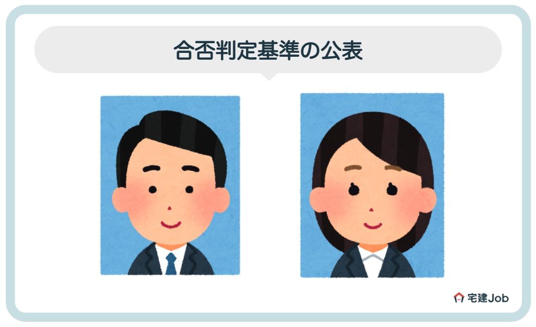2.建築士の試験問題・合否判定基準の公表【合格発表】