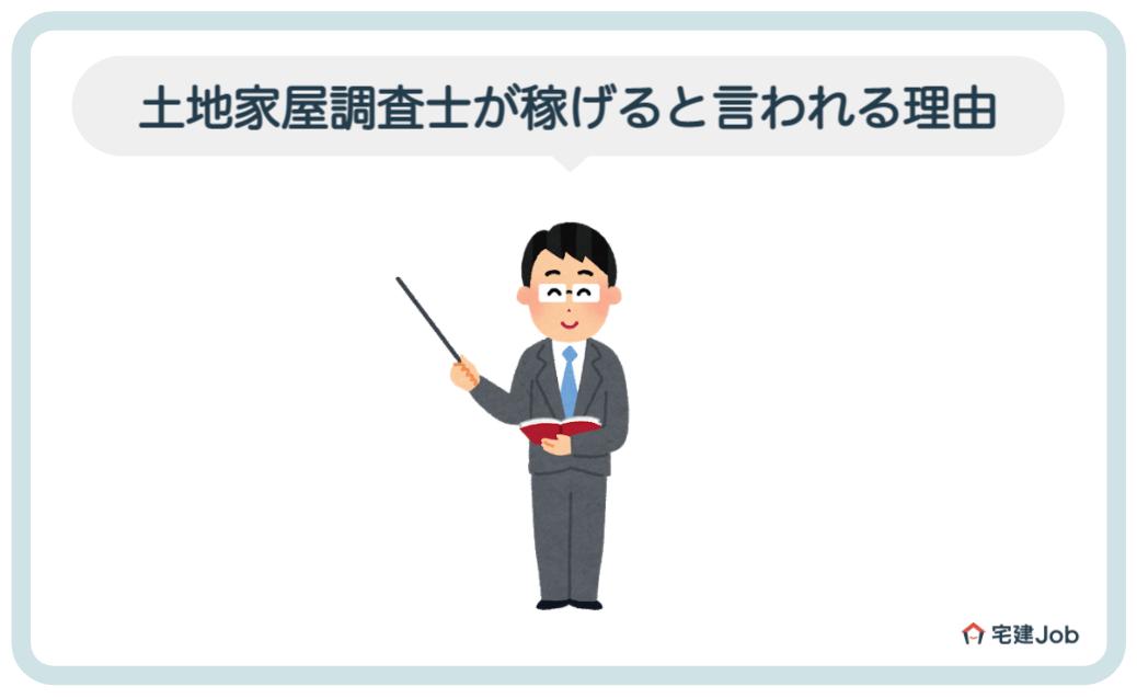 2.土地家屋調査士が稼げると言われる理由【年収】