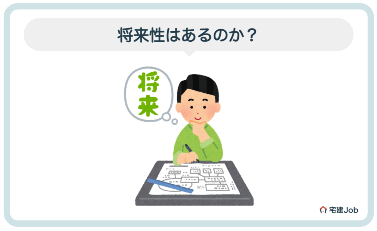 3.土地家屋調査士の将来性【仕事内容】