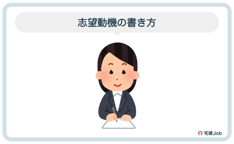 2.不動産事務職に応募する志望動機の書き方【5つの要点】