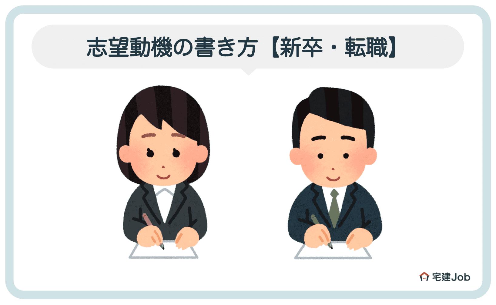 4.不動産リノベーション企業への志望動機の書き方【新卒・転職】