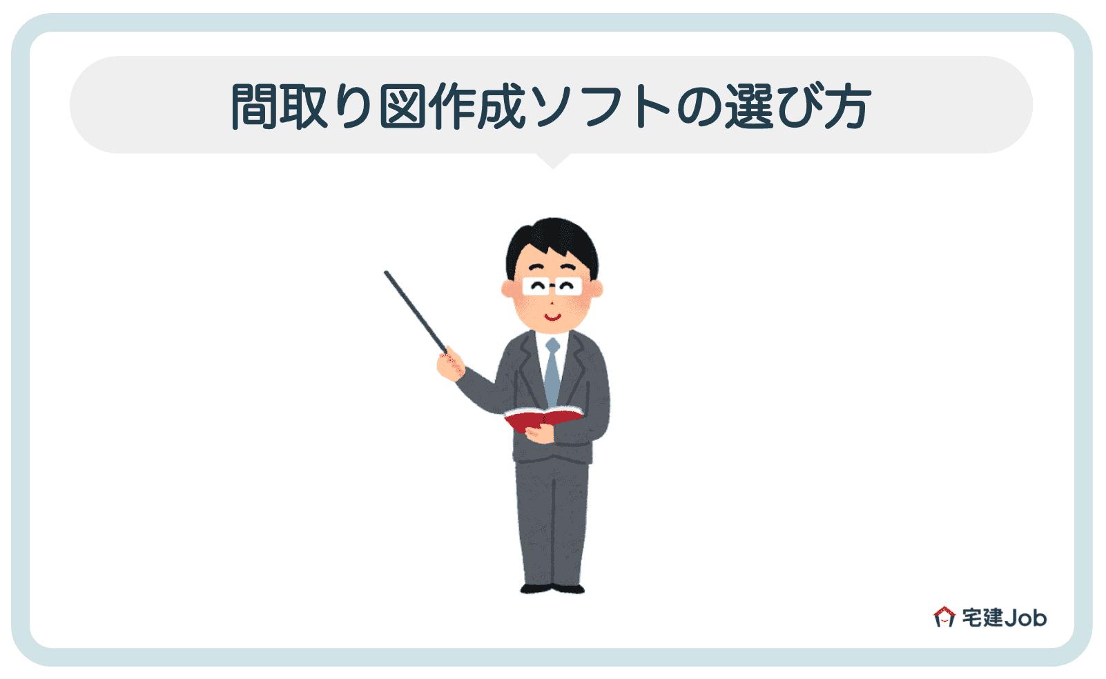 1.間取り図作成ソフトの選び方