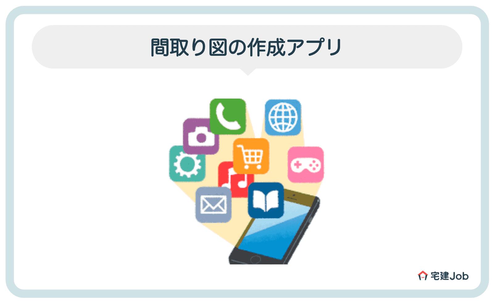 3.おすすめの間取り図作成ツール【アプリ】