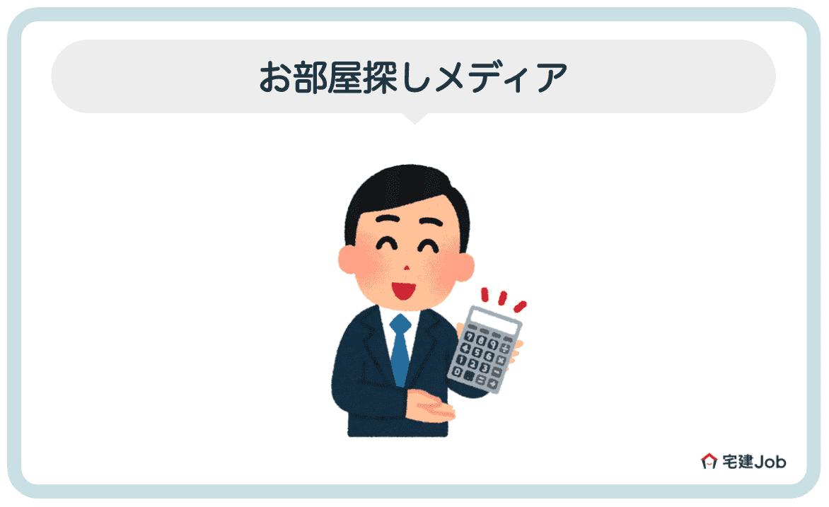 2.不動産お部屋探しメディア