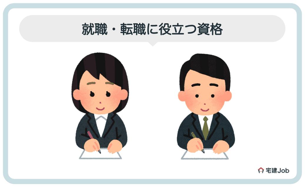 3.不動産営業への就職・転職に役立つ資格