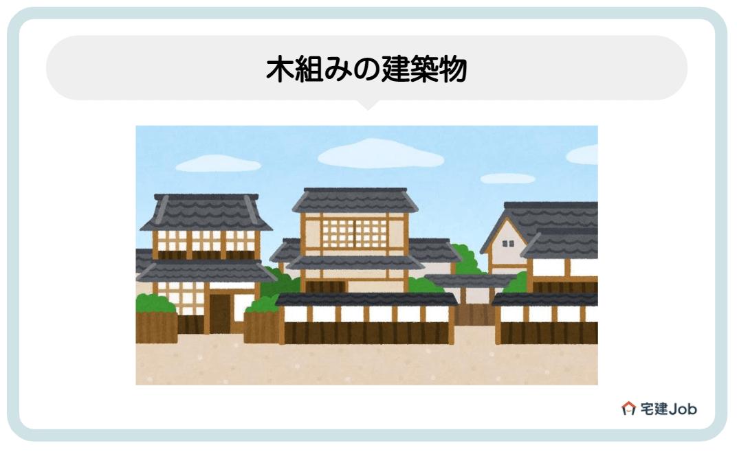 2.木組みの建築物