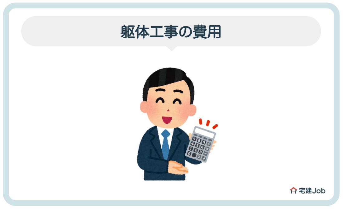 4.躯体工事の費用【見積もり相場】