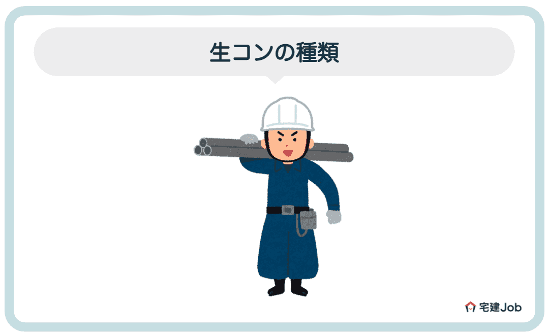 3.生コンの種類【コンクリート配合】