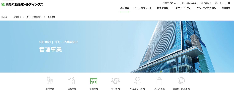 1-2-2.東急不動産ホールディングス(1,711億円)