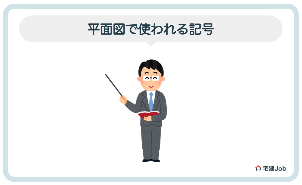 3.平面図で使われる記号